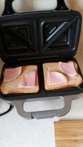 09 Toasties - Bottom Ham Laid Out