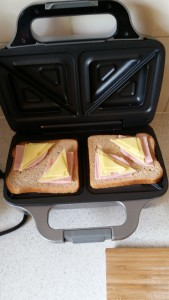 10 Toasties - Cheese Laid Out